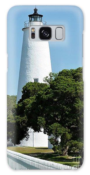 Ocracoke Island Light Galaxy Case