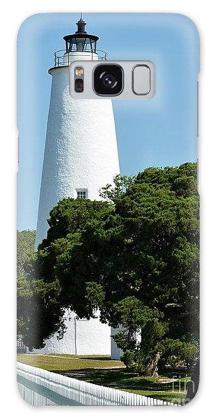 Ocracoke Island Light Galaxy Case by Mel Steinhauer