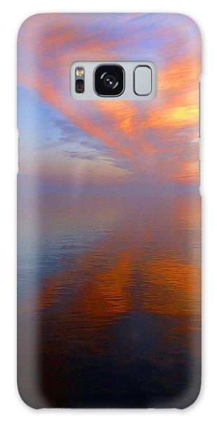 Ocracoke Nc Sunrise Galaxy Case