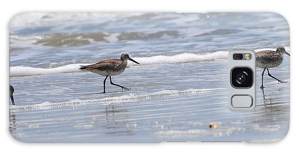 Ocracoke Shorebirds Galaxy Case