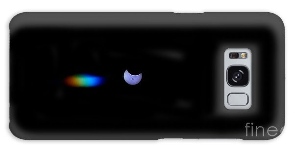 October 2014 Partial Solar Eclipse Galaxy Case by Angela J Wright