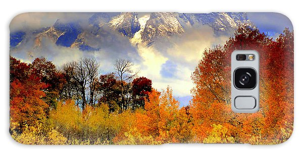 October In Grand Tetons Galaxy Case