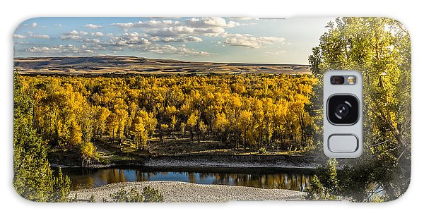 October In Heise Valley Galaxy Case by Yeates Photography