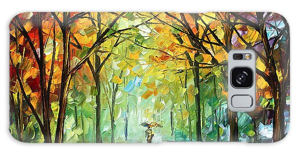 Scenery Galaxy Case - October In The Forest by Leonid Afremov
