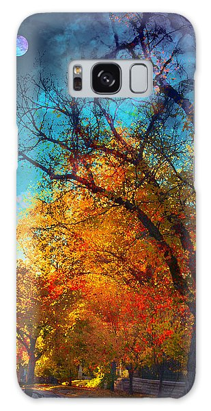 October Galaxy Case by Kat Besthorn