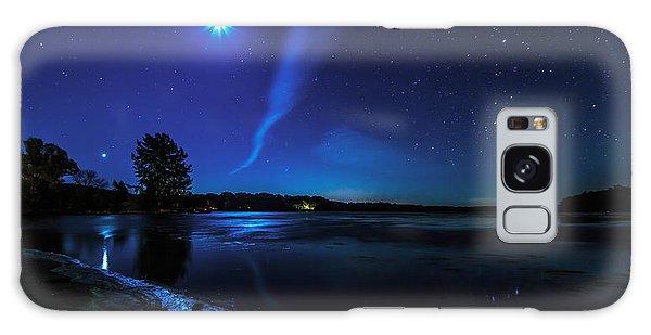 October Moon Galaxy Case by Everet Regal