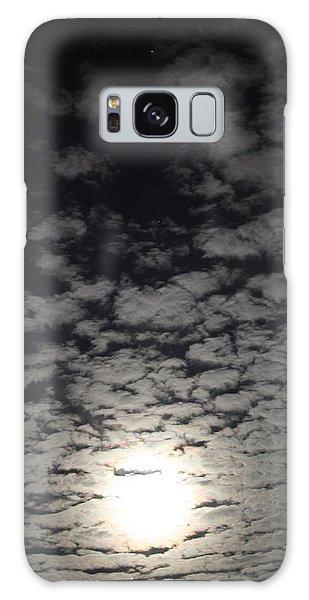 October Moon Galaxy Case by Joel Loftus