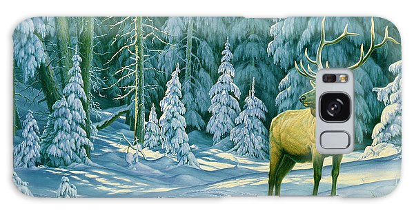Bull Galaxy Case - October Snow by Paul Krapf
