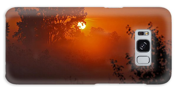 October Sunrise Galaxy Case