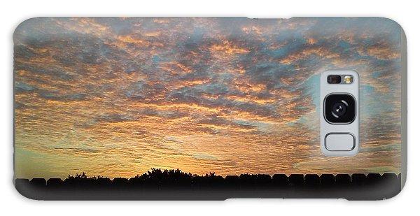 October Sunrise Galaxy Case