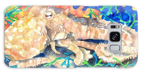 Octopus Delight Galaxy Case