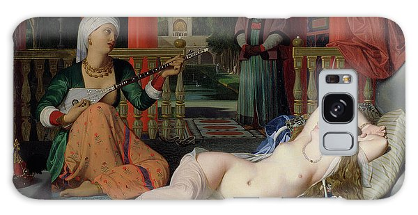 Turban Galaxy Case - Odalisque With Slave by Ingres