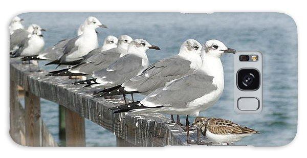 Odd Bird Out Galaxy Case by Cindy Croal