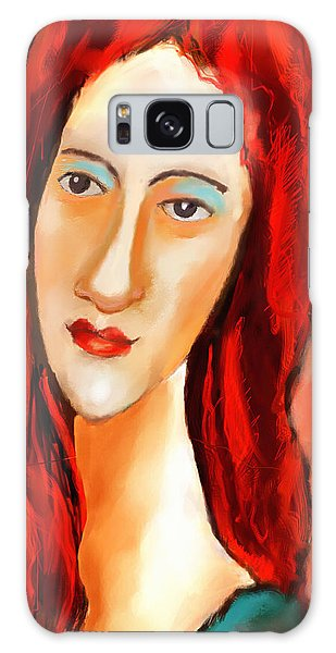 Ode To Modigliani Galaxy Case