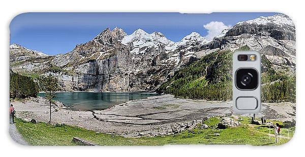 Oeschinen Lake Galaxy Case by Carsten Reisinger