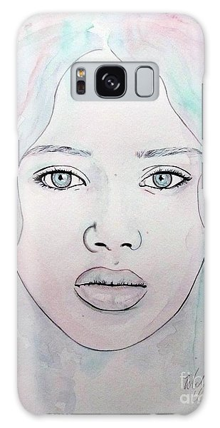 Of Colour And Beauty - Blue Galaxy Case