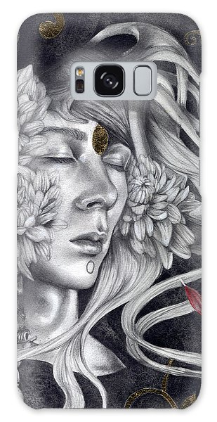 Decorative Galaxy Case - Of Love And Shadows by Patricia Ariel
