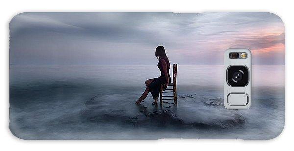 Tide Galaxy Case - Of Tide And Nightfall by Maria Kaimaki