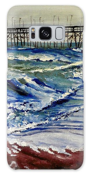 Off Season At Northtopsail Galaxy Case by Jim Phillips
