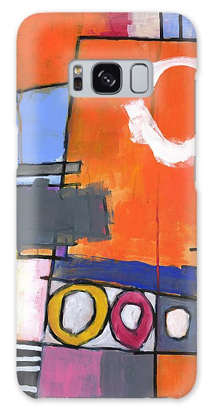 Abstract Expressionism Galaxy Case - Off The Beaten Track by Douglas Simonson