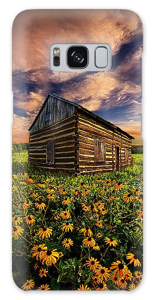 Cottage Galaxy Case - Off The Grid by Phil Koch
