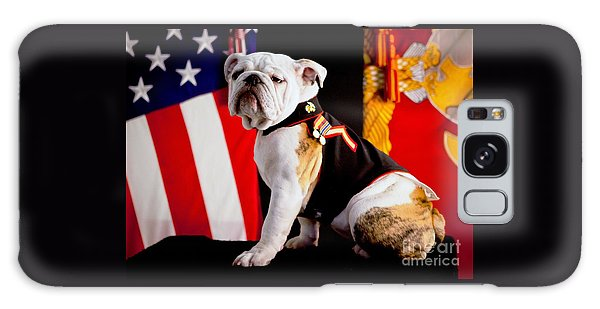 Official Mascot Of The Marine Corps Galaxy Case by Pg Reproductions