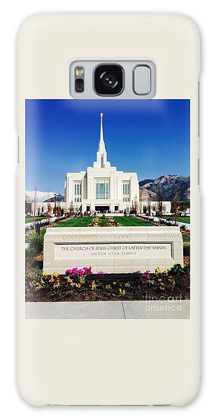 Ogden Temple 1 Galaxy Case by Richard W Linford