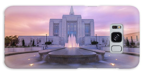 Sunset Galaxy Case - Ogden Temple I by Chad Dutson