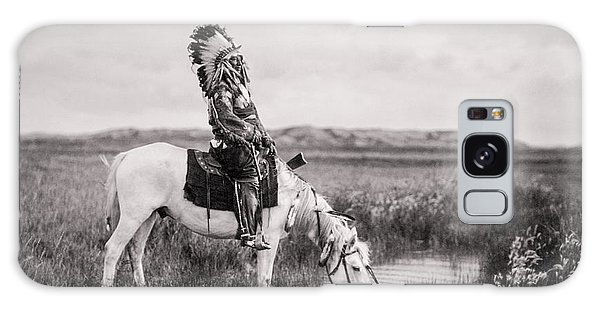 Oglala Indian Man Circa 1905 Galaxy Case by Aged Pixel