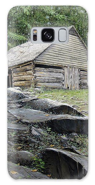 Ogle Barn Galaxy Case by Bob  George