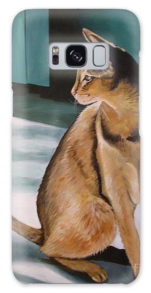 Oh Beautiful House Cat Galaxy Case