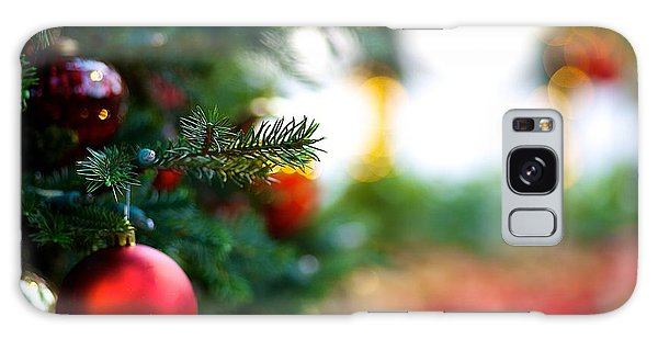 Oh Christmas Tree Galaxy Case by JM Photography