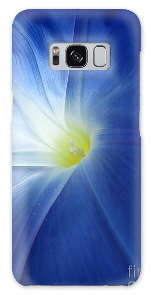 Oh Heavenly Blue 1 Galaxy Case