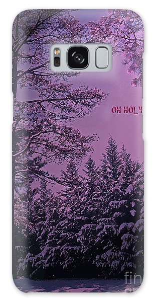 Oh Holy Night Galaxy Case by Lydia Holly