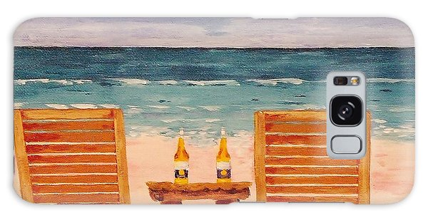Two Corona's And A Beach Galaxy Case