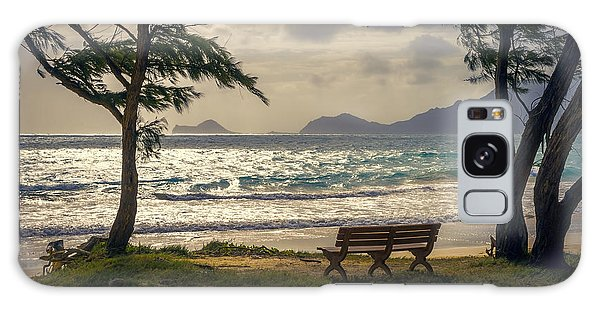 Galaxy Case featuring the photograph Oahu Sunrise by Steven Sparks