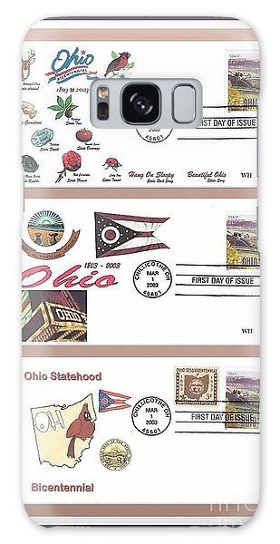 Ohio Bicentennial First Day Covers Galaxy Case