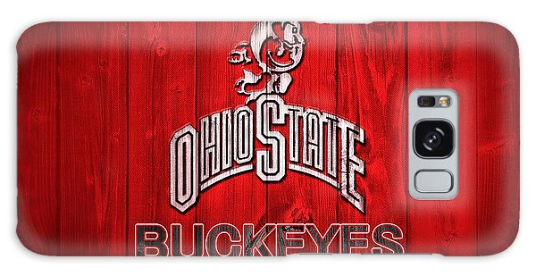 Ohio State Buckeyes Barn Door Vignette Galaxy Case