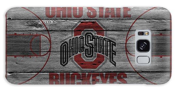 Ohio State Buckeyes Galaxy Case by Joe Hamilton