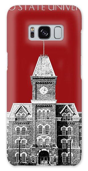 Celebration Galaxy Case - Ohio State University - Dark Red by DB Artist