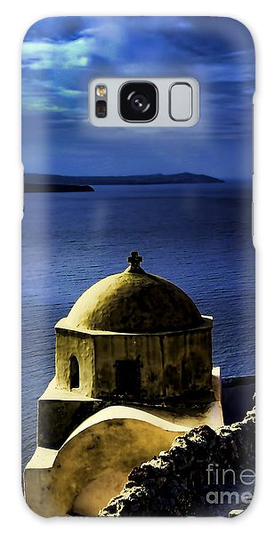 Oia Greece Galaxy Case by Tom Prendergast