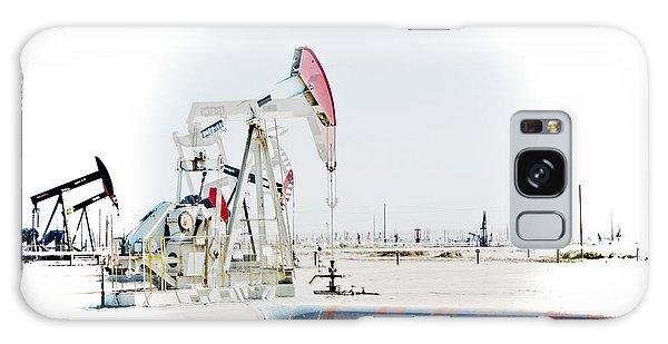 Oil Field Galaxy Case by Joel Loftus