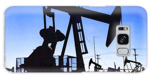 Oil Fields Galaxy Case