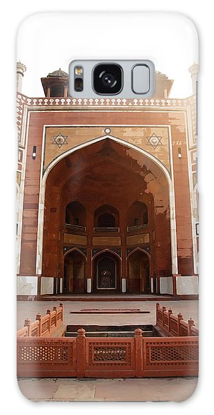 Oil Painting - Cross Section Of Humayun Tomb Galaxy Case