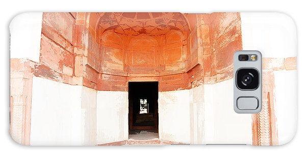 Oil Painting - Doorway In Humayun Tomb Galaxy Case