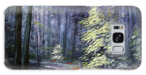 Oil Painting - Forest Light Galaxy Case