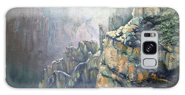 Oil Painting - Majestic Canyon Galaxy Case