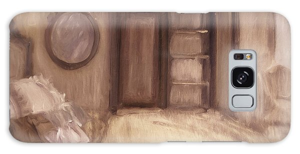 Galaxy Case featuring the photograph Oil Painting Of A Bedroom/ Digitally Painting by Sandra Cunningham