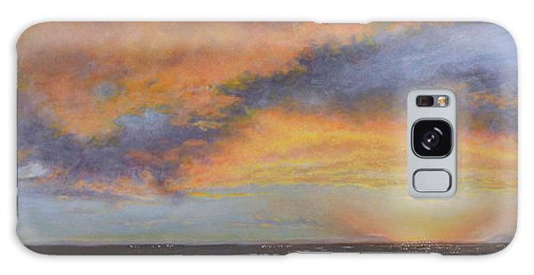 Oil Painting When The Sky Turns Color Galaxy Case