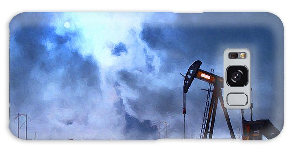 Oil Pump Field Galaxy Case